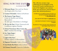 Sing for the East - Back Cover